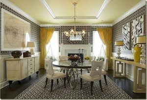 a painted ceiling makes a huge difference
