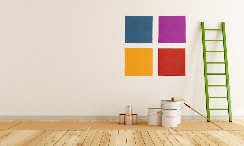 Choosing interior paint colors in NY