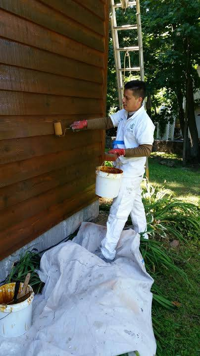 exterior staining westchester and fairfield counties