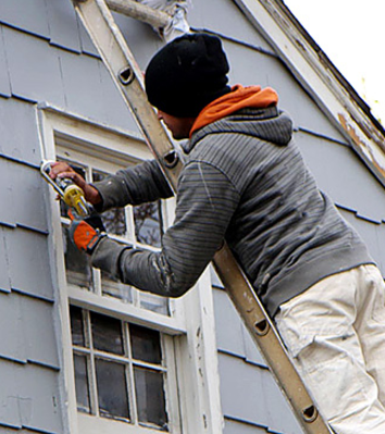check the caulking around your window frames periodically