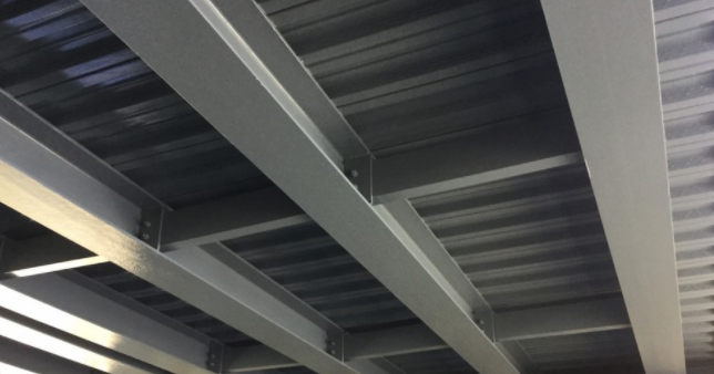 As a commercial painting contractor, we paint structural steel