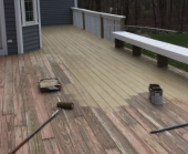 do you know whether deck stain or paint will be more effective?