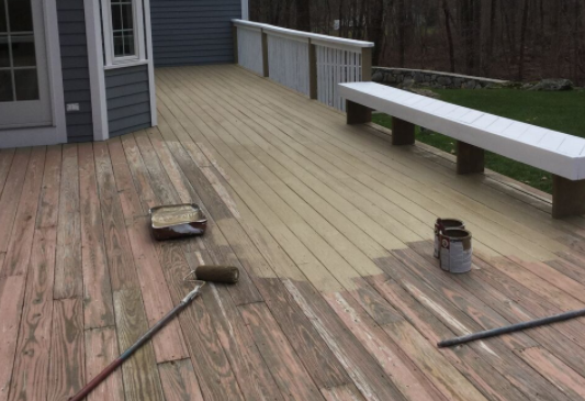 Is It Better To Paint Or Stain My Deck A G Williams Painting Company