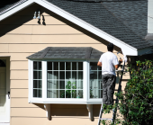 How do you prevent knot bleed how do you paint wood a g williams painting company for How long to paint a house exterior