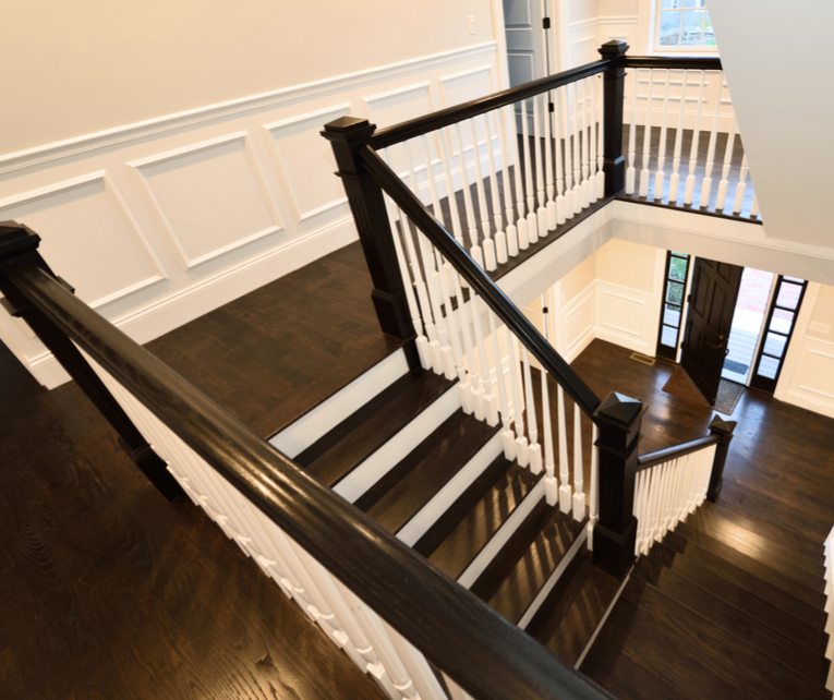 painting railing spindles interior