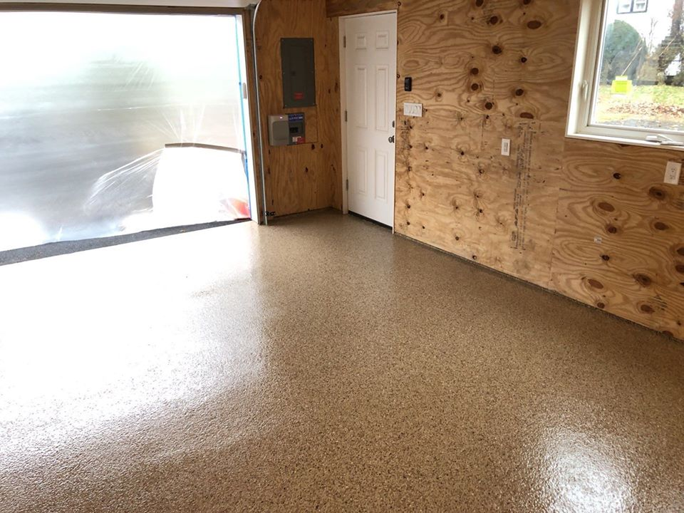 Garage floor coating in mamaroneck ny a g williams - What temperature is too cold to paint outside ...