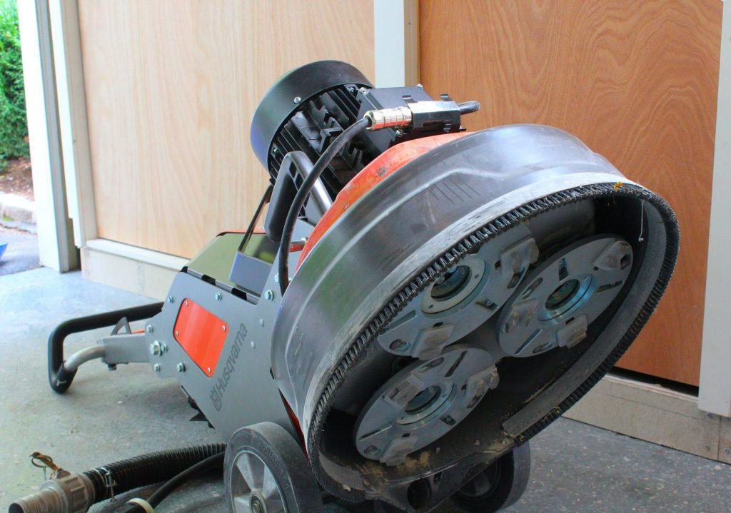 garage floor coating prep